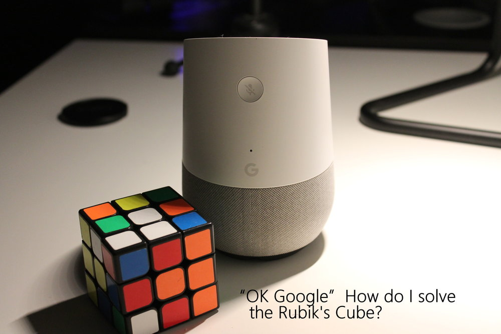 I really did ask it to solve the Rubik's Cube