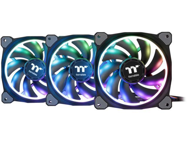 These are 120mm fans, with RGB LIGHTS!!!!