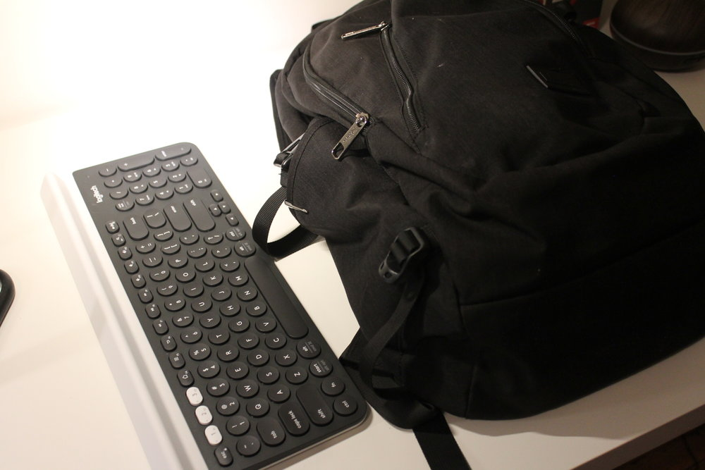 Seriously, would you fit this keyboard into a backpack?