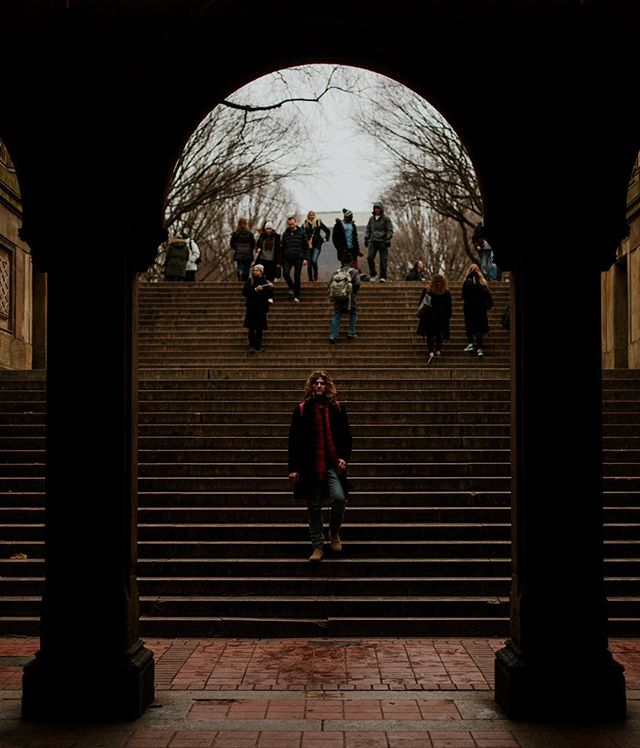 When you act like you haven't walked up and down these steps 20 times to get this shot 😅 • Canon 5D Mark III // Canon 50mm f/1.4 • • • • • • • • • #centralparkmoments #bethesda #bethesdafountain #exploretocreate #centralparknyc #newyorklife #roamnation #newyorklike #stayandwander #lensbible #agameoftones #visualsoflife #passionpassport #viewbug #theworldtour #feedyouradventure #canon5dmarkiii #coupletravels #travelwithus #traveladdicts #travelcouple #travelingcouple #wanderlusting #travelcouples #unlimitedvoyage #creativetravelcouples #vscocollective #AllAboutAdventures #wondermore #roamtheplanet