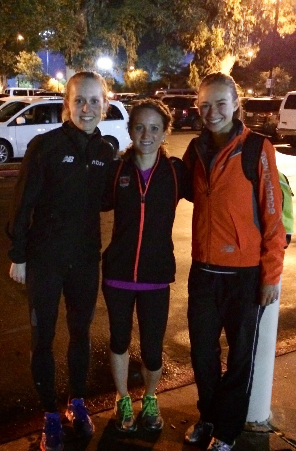 Post-race with Ohio training partner Nicole Camp and NBSV teammate Steph Dinius