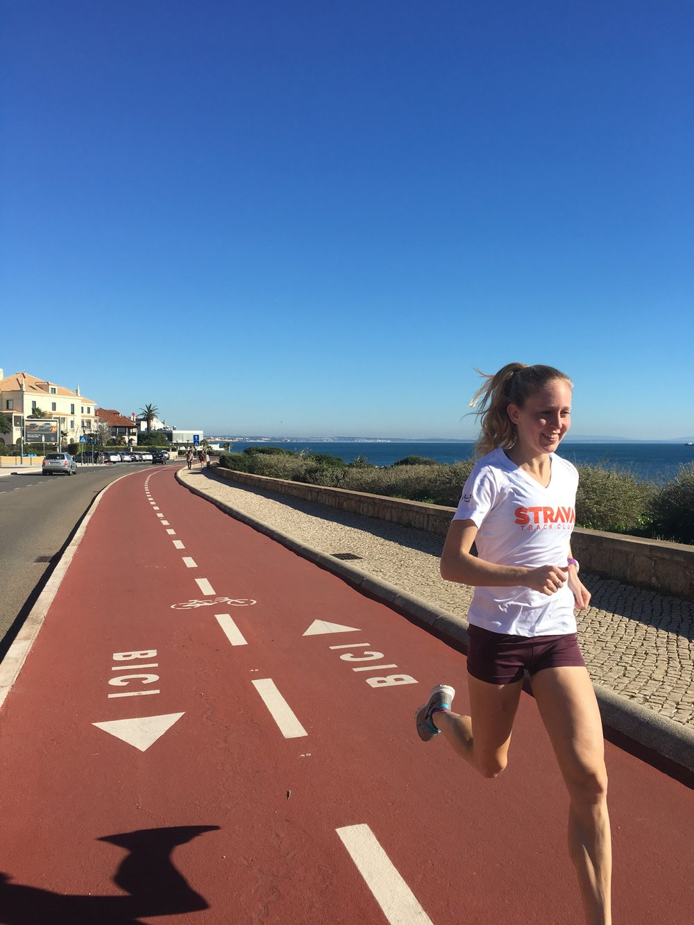 Running down 30 in Portugal earlier this month