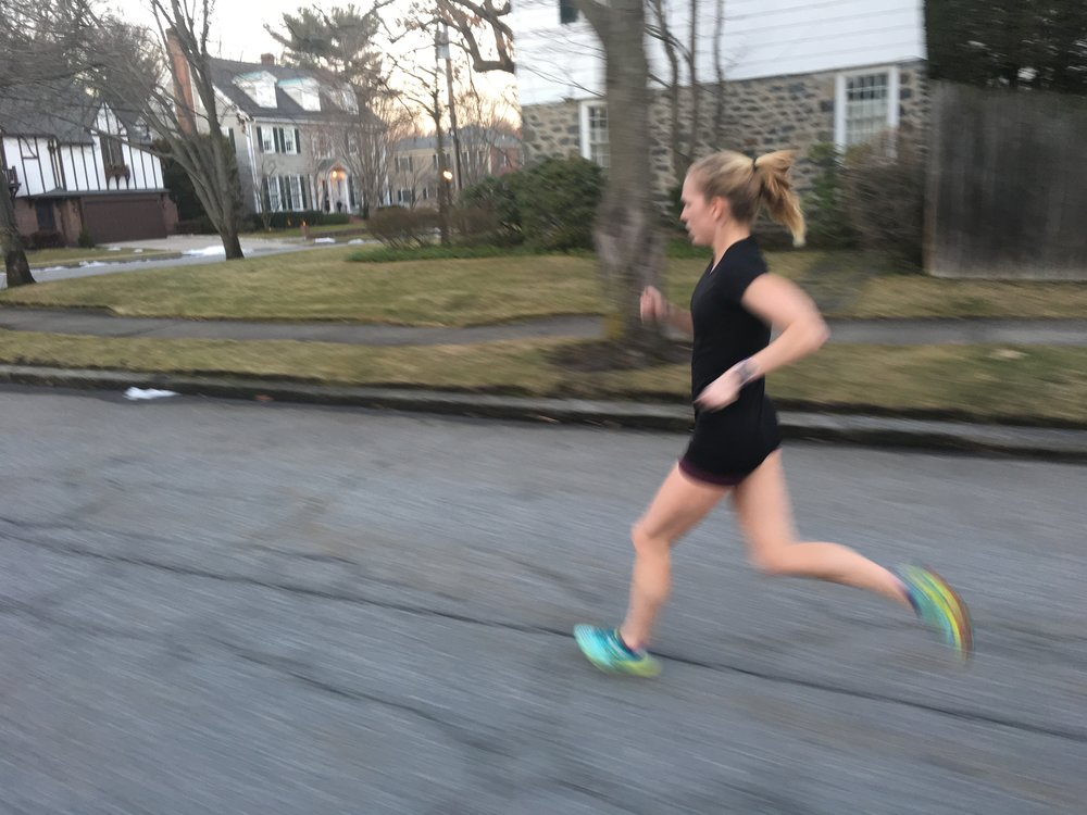 Rolling through the East Side of Providence during a 6 mile time trial earlier this month
