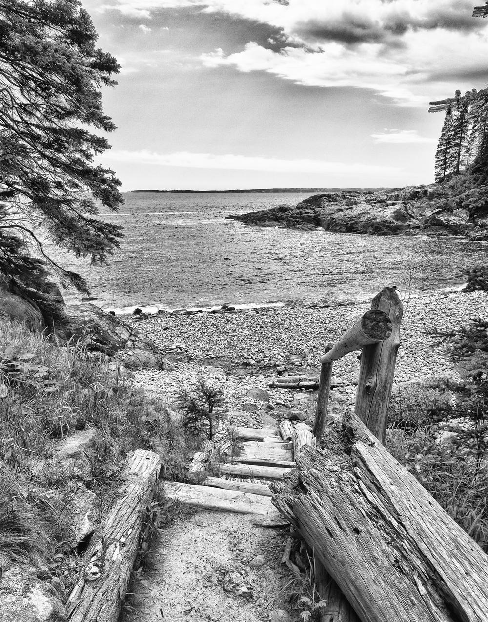 Stone Beach, Acadia National Park