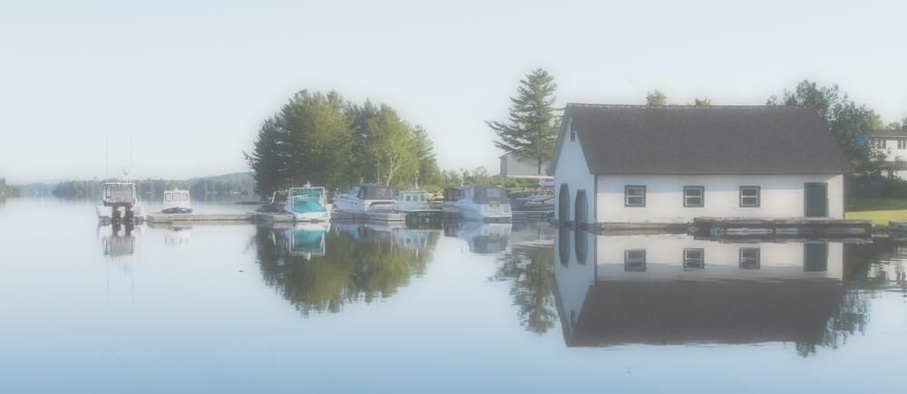 Morning on Moosehead Lake