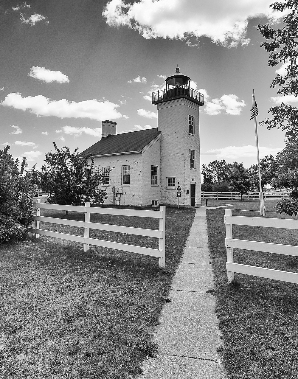 Sand Point Light, Escanaba, MI