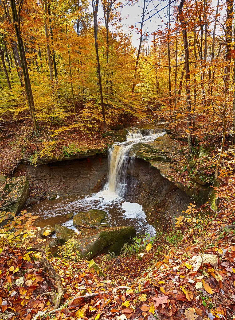 Blue Hen Falls - Cuyahoga Valley National Park