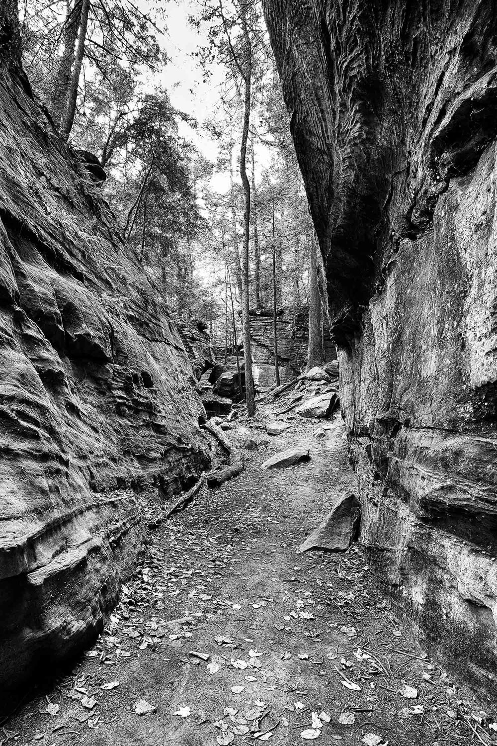 Trail Slot - Virginia Kendall Ledges, Cuyahoga Valley National Park