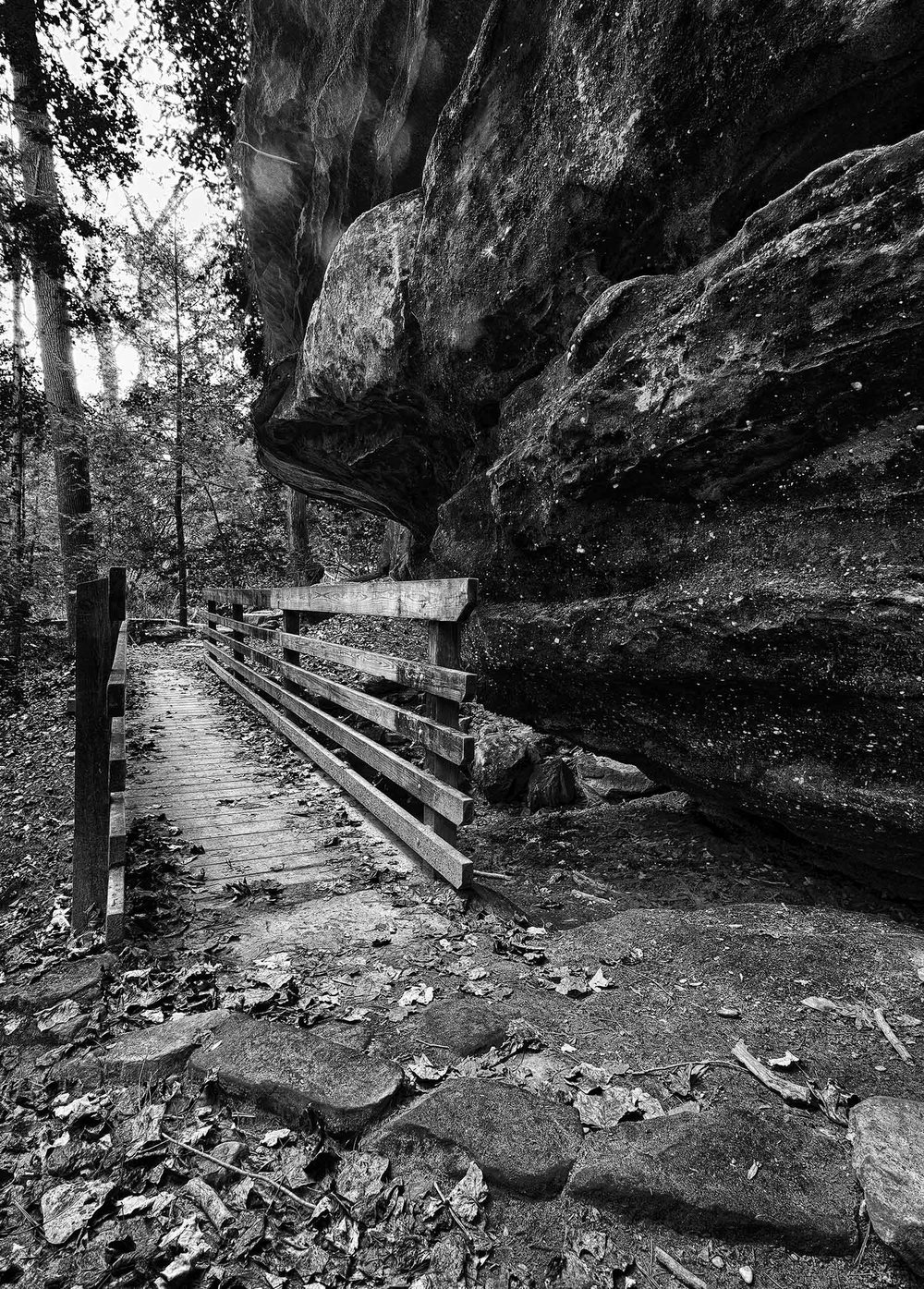 Footbridge - Virginia Kendall Ledges, Cuyahoga Valley National Park