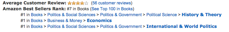 Paperback ranking
