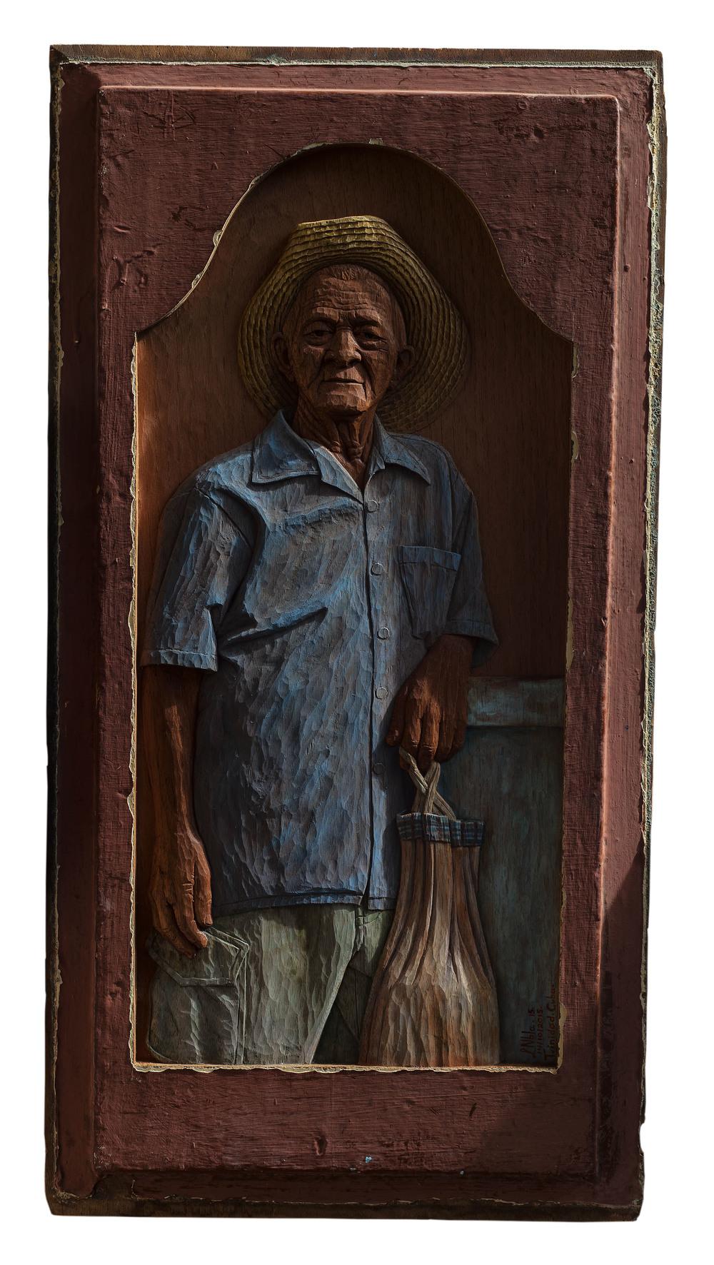 Martiniano Martín Pérez 2 - $6000 78.5 x 40.5 cm 2015