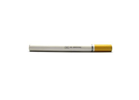 As an ex smoker, I can appreciate this pencil and wish I had one when I was kicking the habit. Sized at three and a half inches, this No Smoking pencil looks just like a smoke, but is a lot healthier. Available at  CW Pencil Enterprise