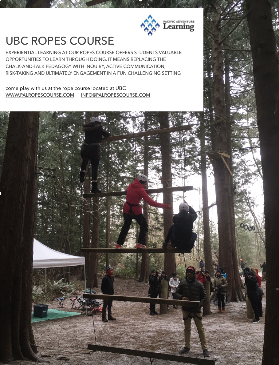 We are gearing up for the season and looking forward to opening May 6th.  Email us for your next class/team building session at the Ropes Course.