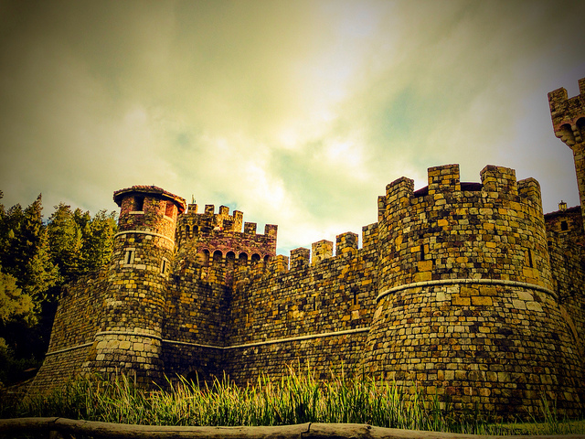 Castle in North America - Castello di Amorosa