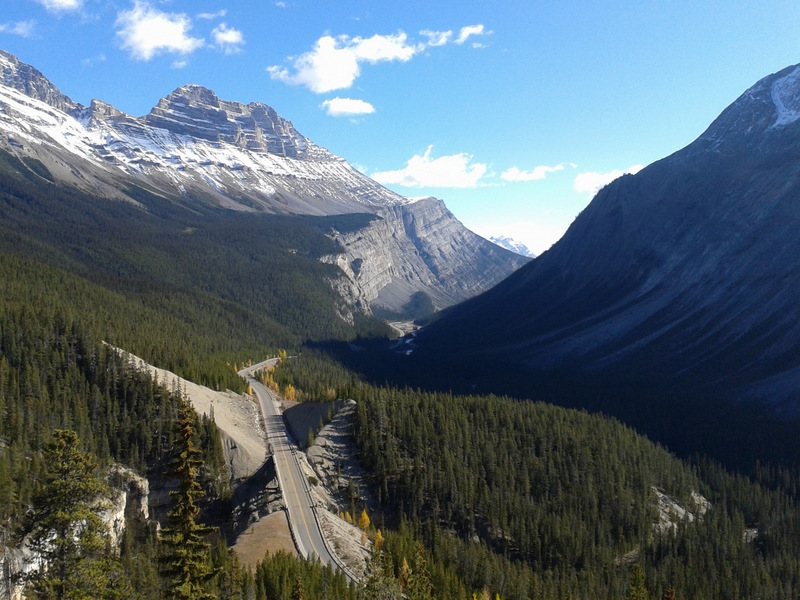 Icefield Parkway - entering Banff from Jasper