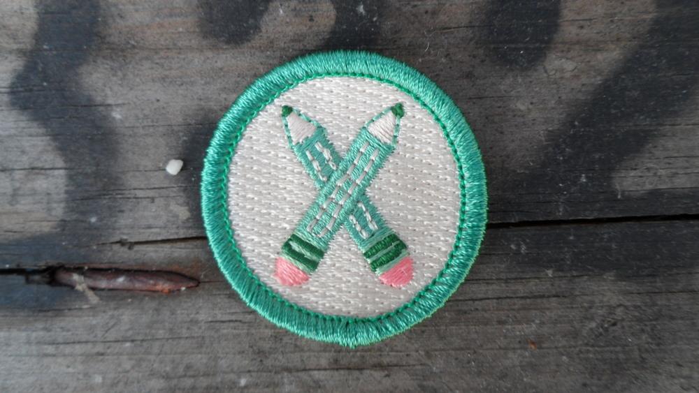 storyteller writing badge