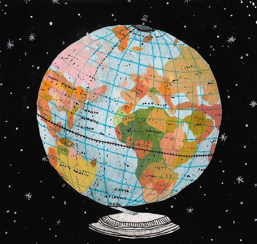 globe print