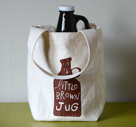 craft beer gift guide - growler bag