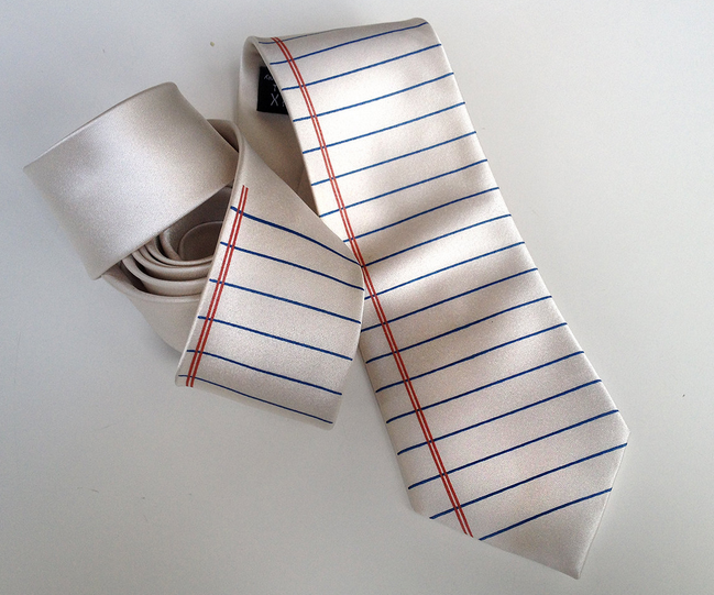 gift-ideas-for-writers-notebook-tie