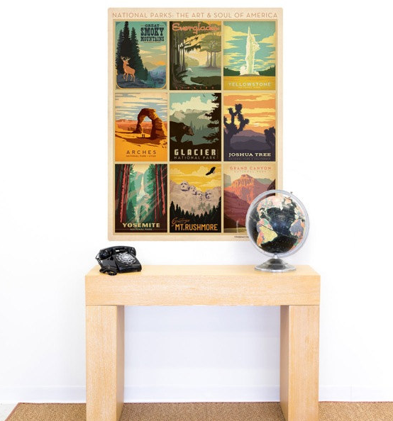 national park wall decal