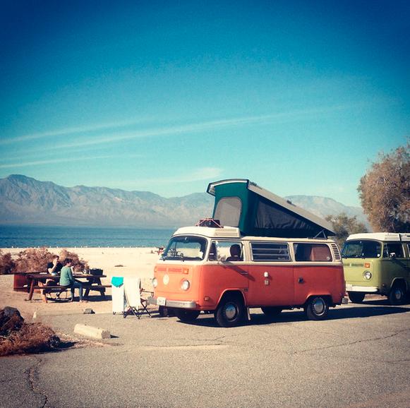 vintage volkswagon camper rental