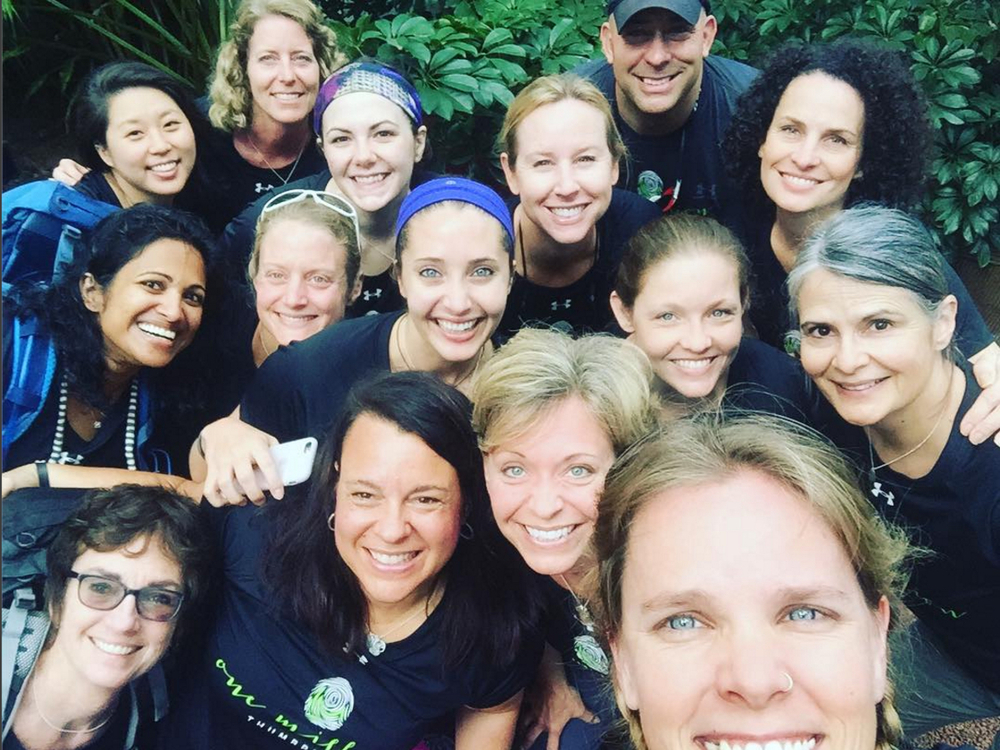 The 1MT Kilimanjaro team summited Kilimanjaro on International Women's Day to honor their sisters who suffer violence in war zones.