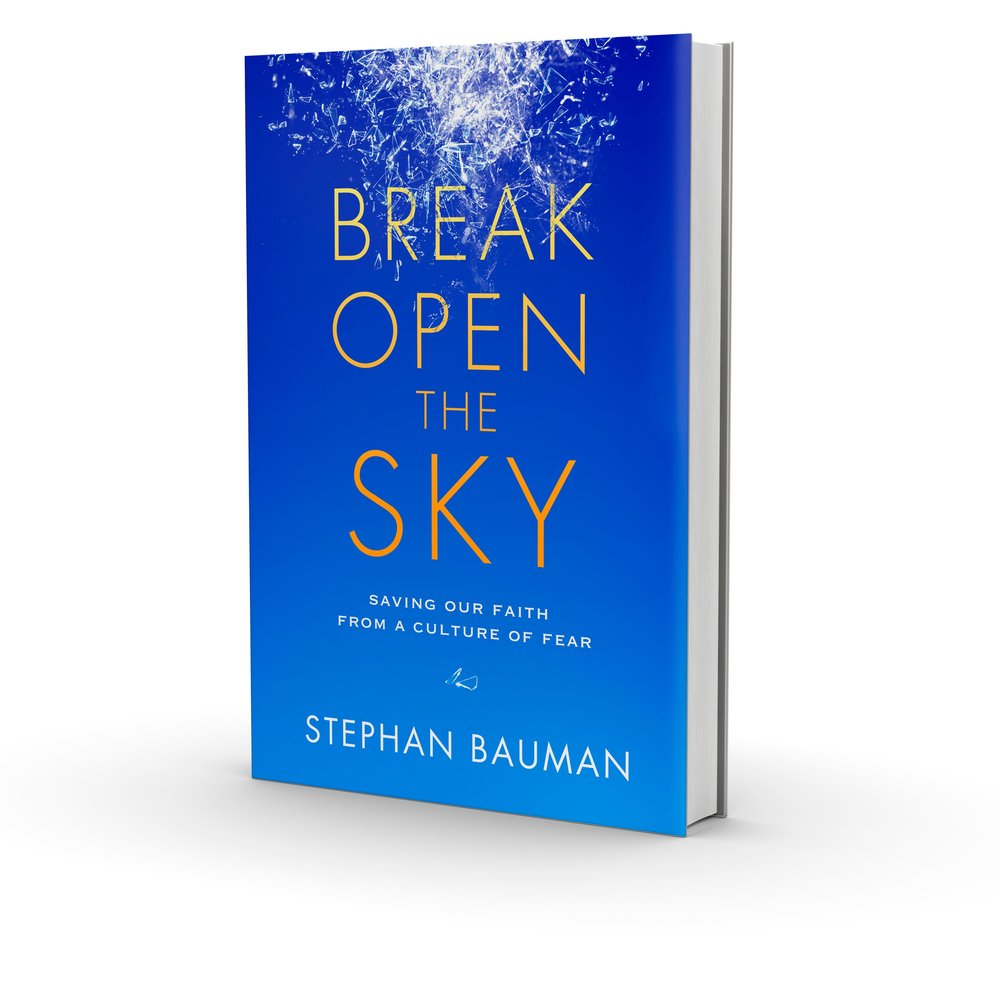 Rarely do I read something with such deep spiritual analysis, profound insight, and poetic storytelling as Stephan Bauman's new book ...  Break Open the Sky  is a timeless contribution to Christian and human spirituality.   — Ken Wytsma , president of Kilns College, founder of The Justice Conference