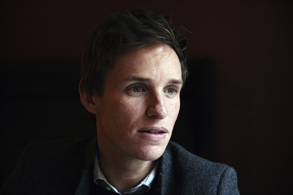 Eddie Redmayne for The New York Times.