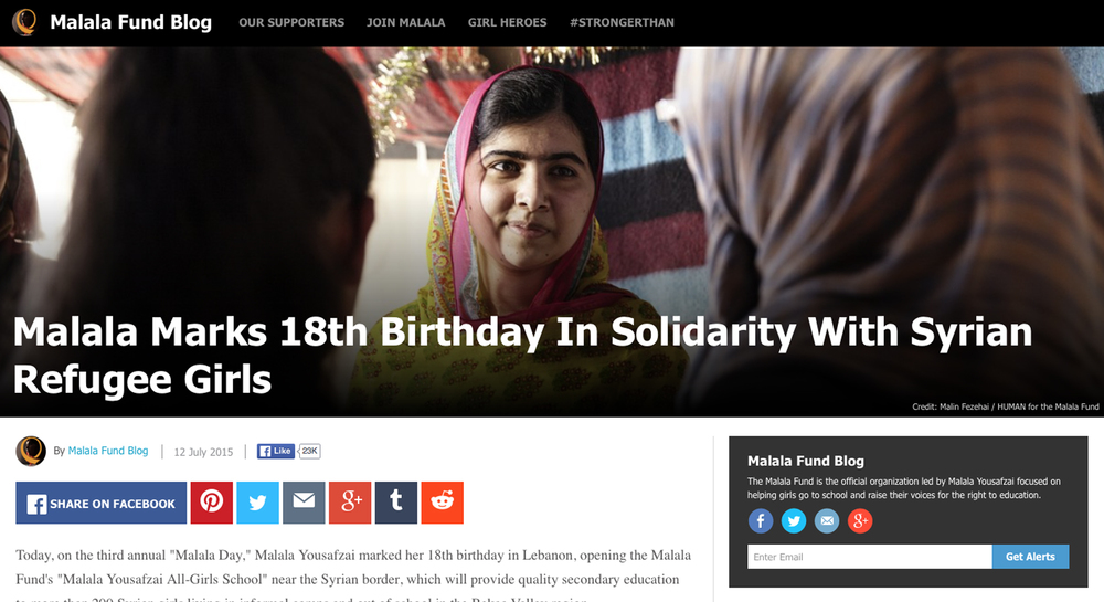 Malala Foundation