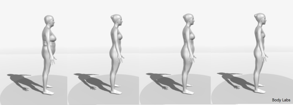 3D Body Models (3D Scans) - Fitnescity