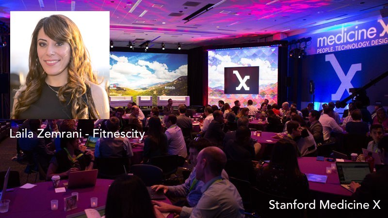 Laila Zemrani - Co-founder an CEO of Fitnescity. Talk at Stanford Medicine X
