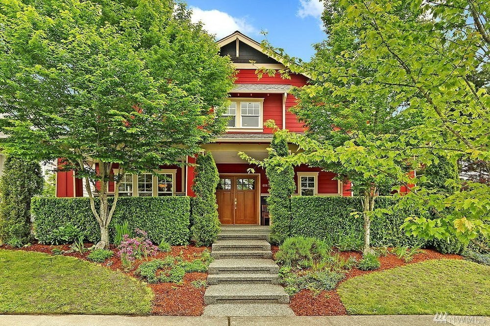 Bainbridge Island listing, represented buyers