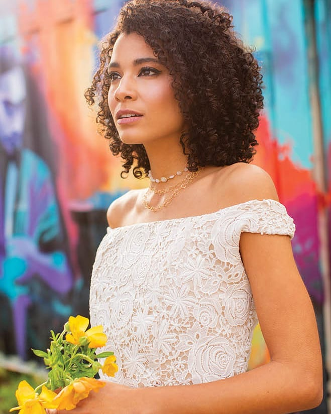 April gown in Fall Winter 2018 issue of Austin Wedding day Magazine