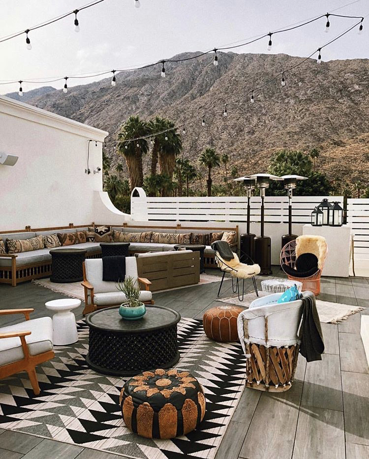 Sugar High // 339 S Belardo Rd - Located on the rooftop of Azucar, the restaurant in La Serenas Villas. It's a perfect place to bask in the sun with gorgeous views and delicious cocktails.
