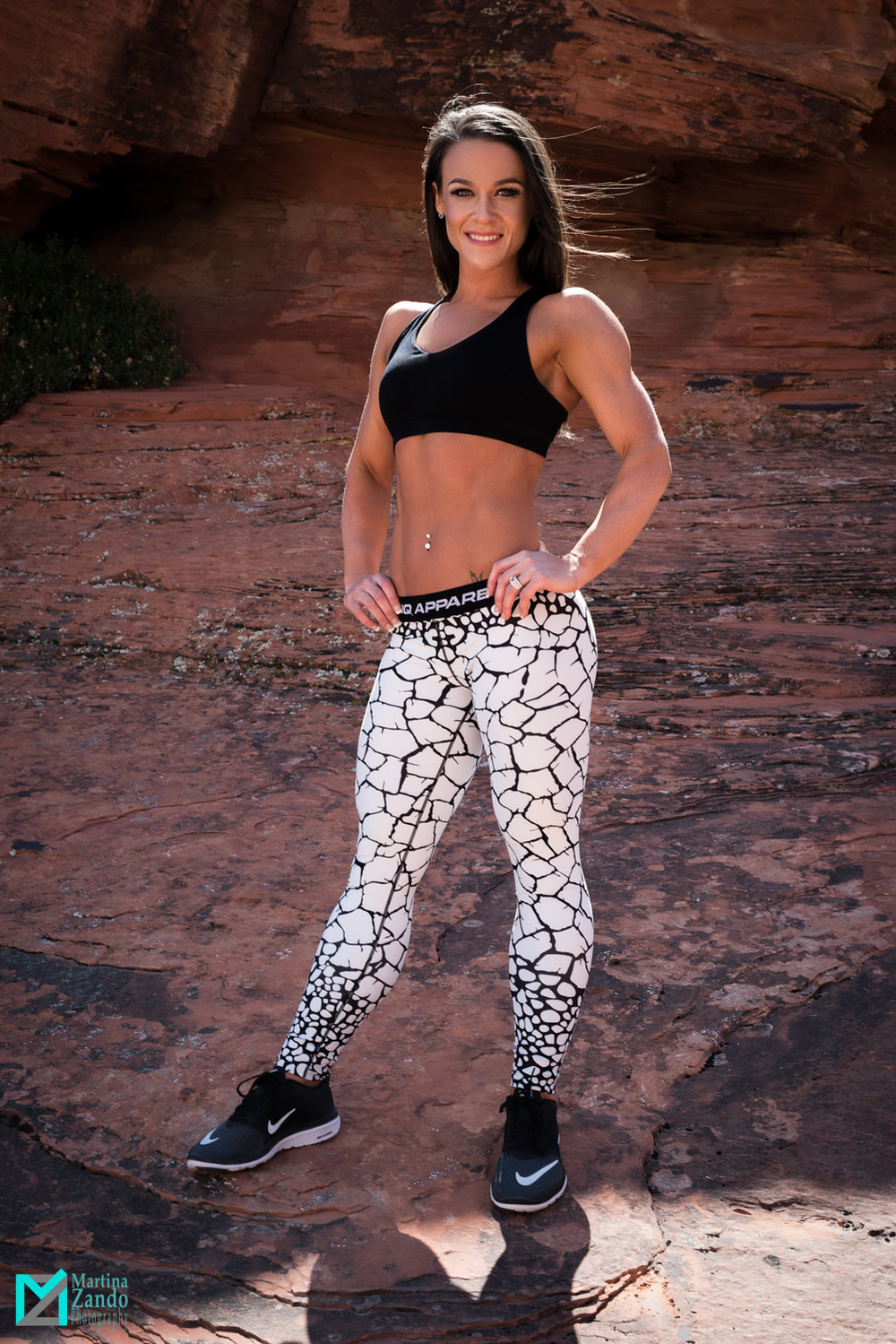 outdoor fitness photoshoot near las vegas