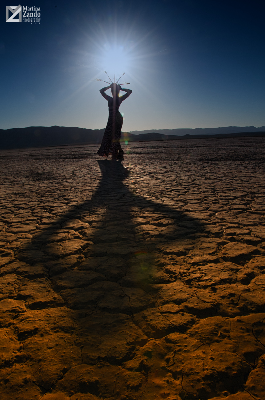 dry lake bed photography