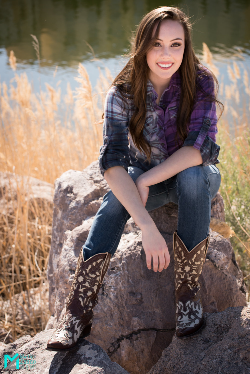 lake las vegas country photoshoot