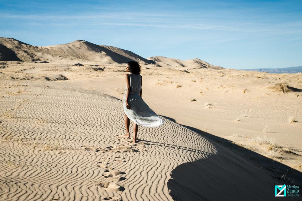 kelso sand dunes photoshoot