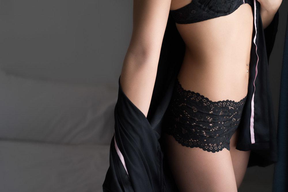 robe outfit boudoir idea