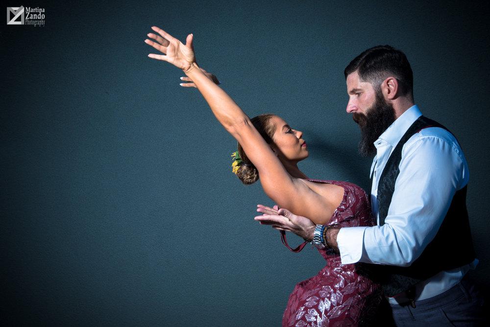 Passionate Dance pose Tango Style