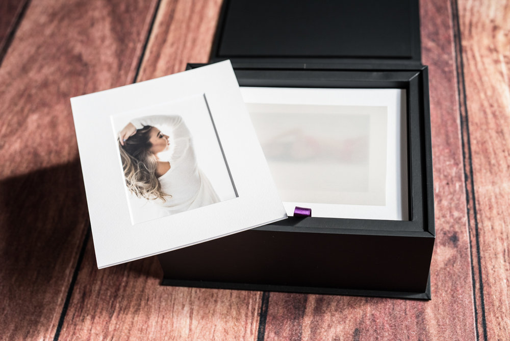 Luxury Folio box- Martina Zando Photography
