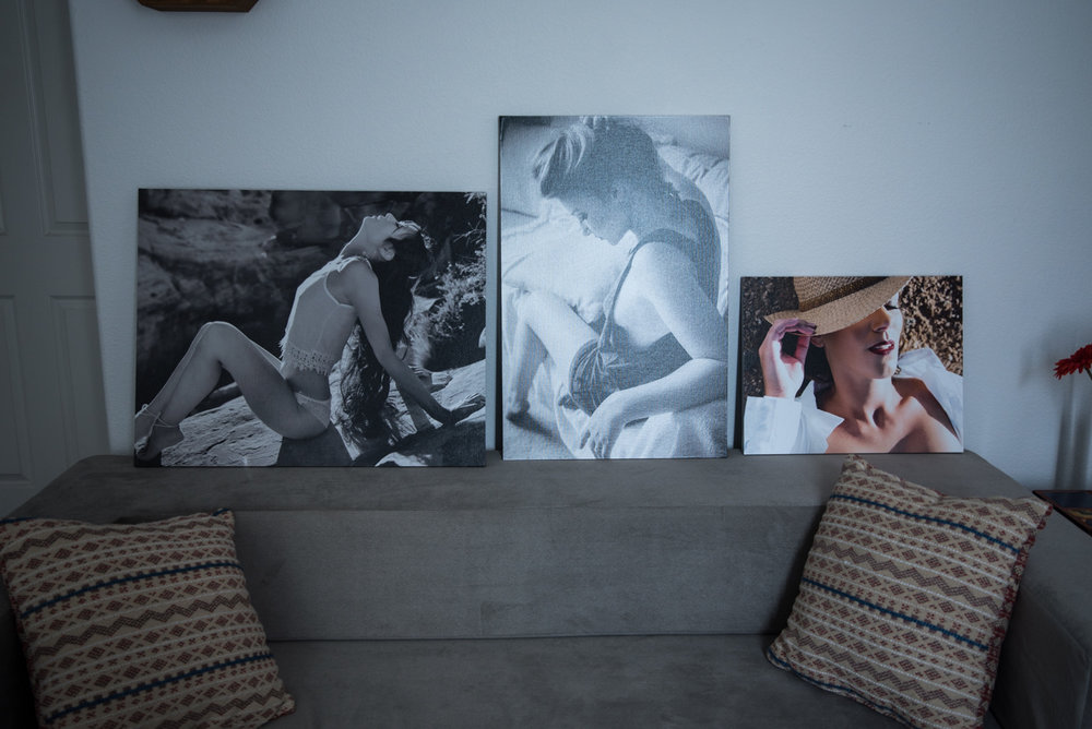 canvas, different sizes