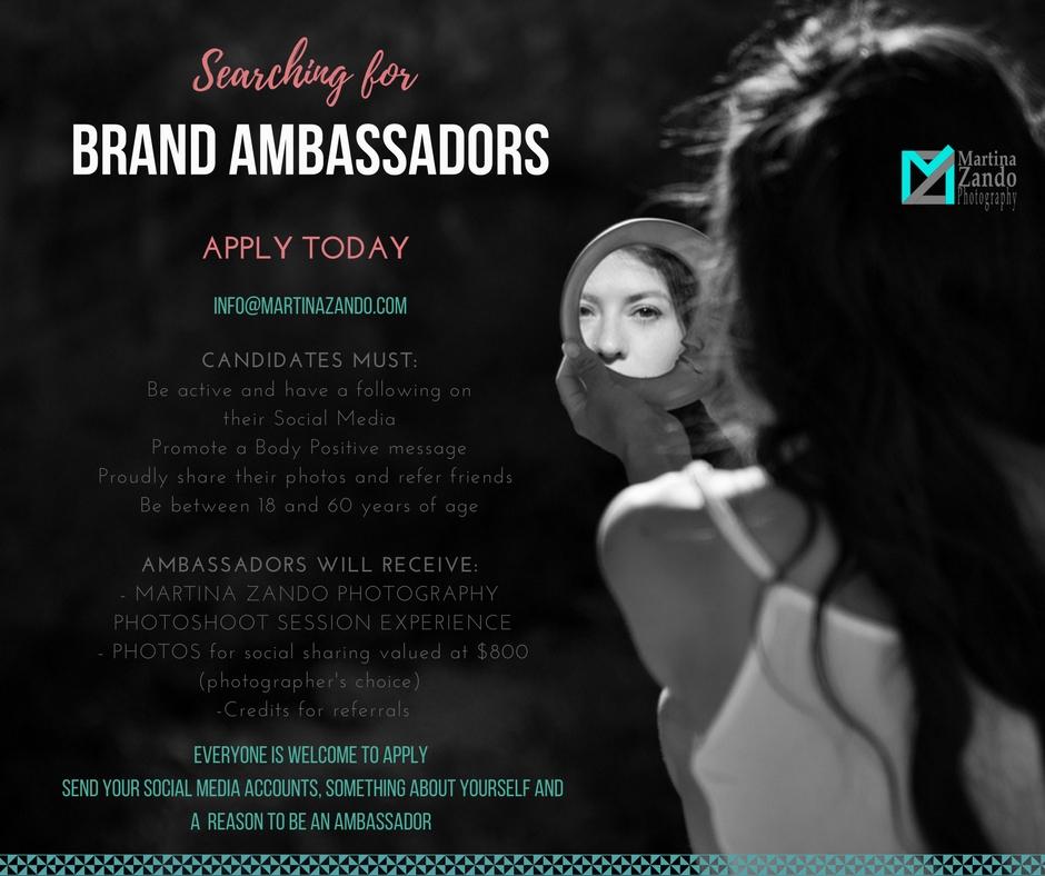 brand ambassador martina zando photography