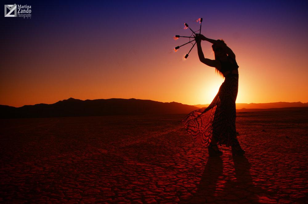 desert sunset lifestyle photoshoot
