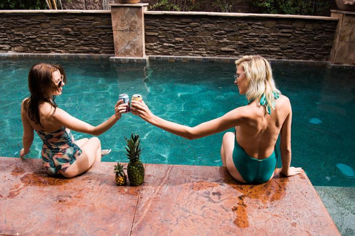 Photo by Martina Zando Photography for Taste Collection Clothing  with Daria Mudrova, Katrina May Armenta