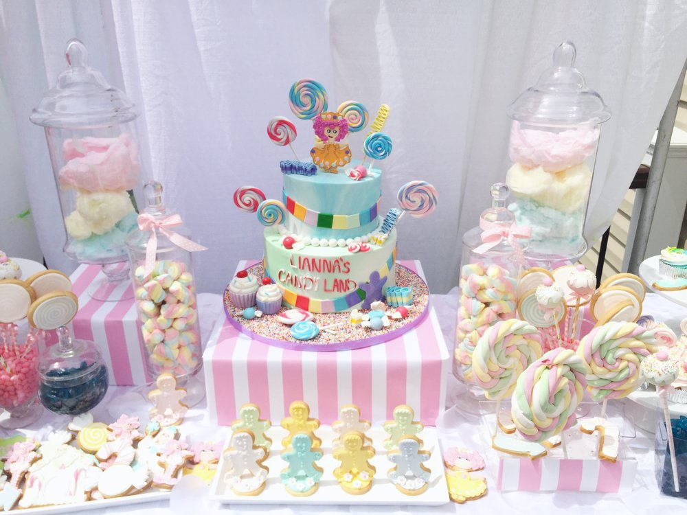 LLG Events custom candy display