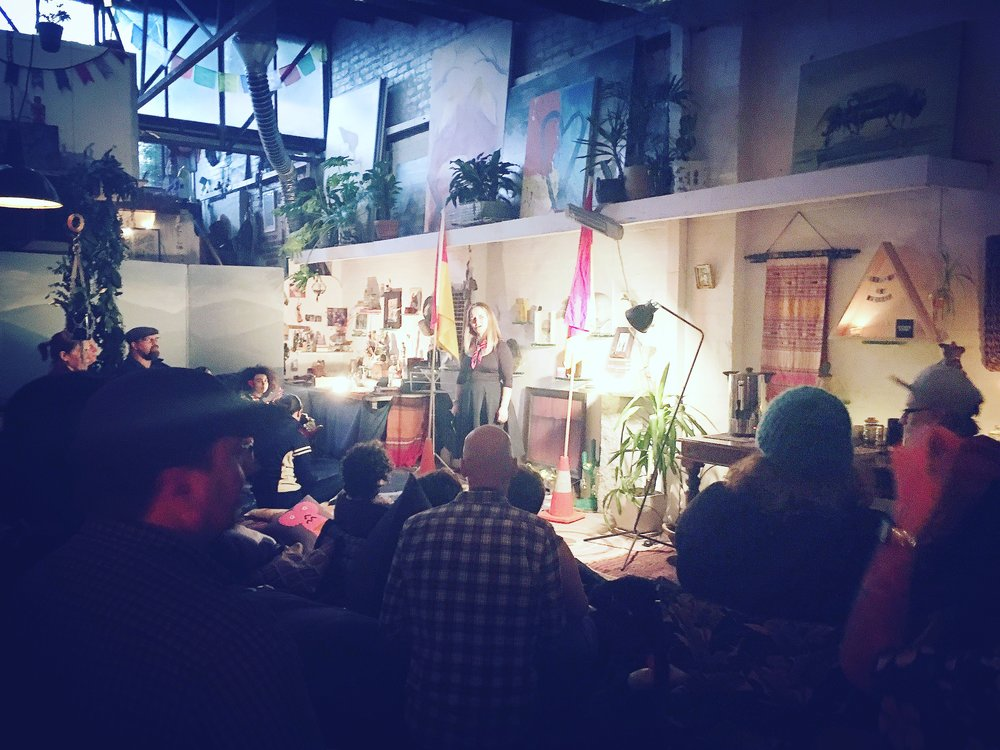 A Spoken Word Poetry Evening. xo