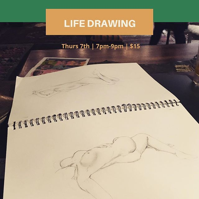 It's back! Come and get creative in the Warehouse this Thursday. $15   7-9pm   460 Glen Huntly Road   BYO paper, pencils and magic ✨👩🏻🎨✨ #draw #paint #life #elsternwick #melbournecreativenetwork