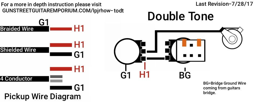 double tone WIRING HOW TO DIAGRAM