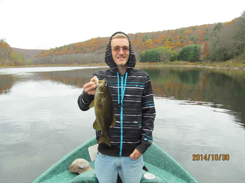 Surface lures, Smallmouth Bass, Delaware River with Sweetwater Guide Service